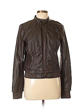 XXI Faux Leather Jacket Size L