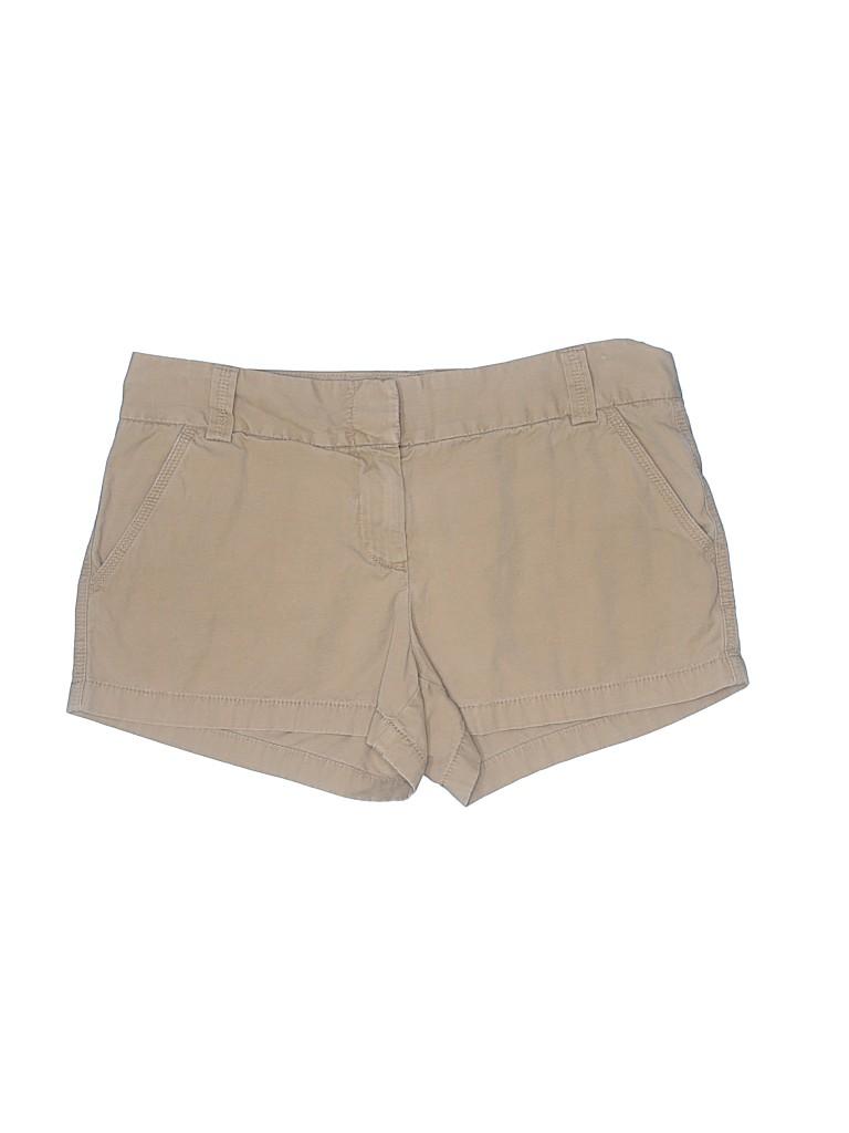 J. Crew Factory Store Women Khaki Shorts Size 6
