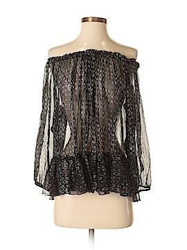 Rebecca Taylor Long Sleeve Blouse Size 4