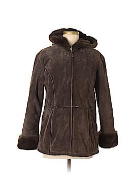 Wilsons Leather Coat Size M