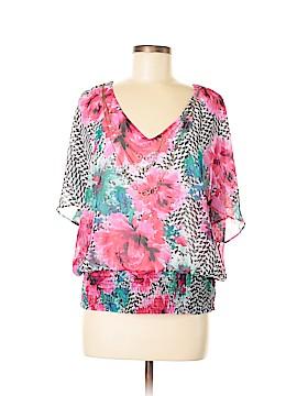 Thalia Sodi Short Sleeve Blouse Size M