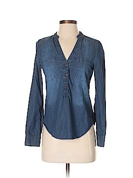 LC Lauren Conrad Long Sleeve Button-Down Shirt Size XS