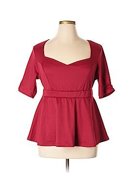 Kiyonna Short Sleeve Top Size 1X (Plus)