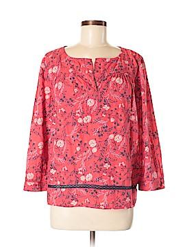 Caslon 3/4 Sleeve Blouse Size M (Petite)
