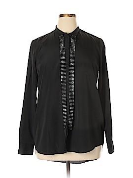 Rock & Republic Long Sleeve Blouse Size XL