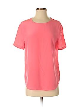 Equipment Short Sleeve Silk Top Size XS
