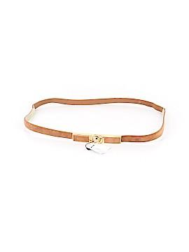 White House Black Market Leather Belt Size XL