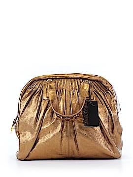 Roberto Cavalli Leather Satchel One Size