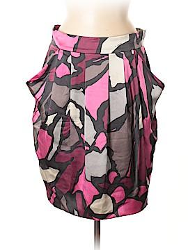 D. Exterior Silk Skirt Size 44 (IT)