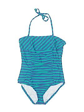 Aqua One Piece Swimsuit Size 12