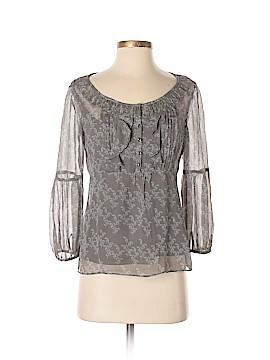 Cynthia Cynthia Steffe 3/4 Sleeve Silk Top Size 4