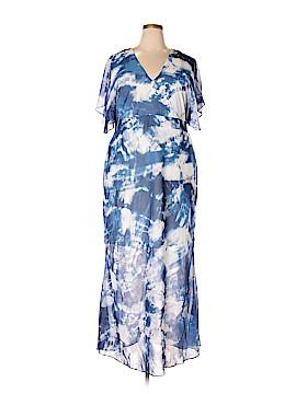 FASHION TO FIGURE Casual Dress Size 2X Plus (2) (Plus)