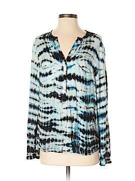 Young Fabulous & Broke Long Sleeve Button-Down Shirt Size S