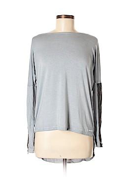 Blanc Noir Long Sleeve Top Size M