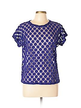 Hi-Line Short Sleeve Blouse Size L