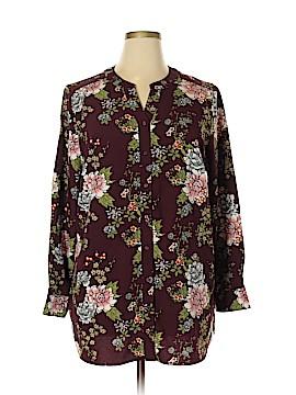 D&Co. Long Sleeve Blouse Size XL