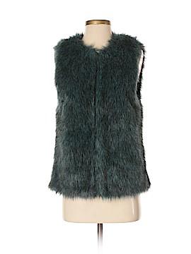 Bisou Bisou Faux Fur Vest Size XS