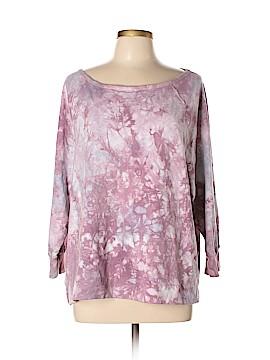 Pink Lotus Sweatshirt Size XL
