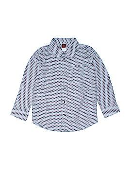 Tea Long Sleeve Button-Down Shirt Size 4