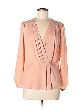 Rebecca Taylor Long Sleeve Silk Top Size 6