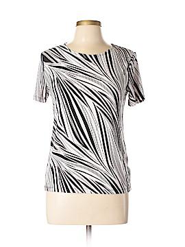 JM Collection Short Sleeve Top Size M (Petite)