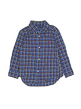 Ralph Lauren Baby Short Sleeve Button-Down Shirt Size 3T