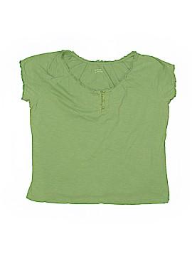 Bit & Bridle Short Sleeve Henley Size L