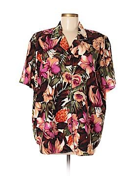 Teddi Short Sleeve Blouse Size XL