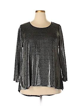 Nally & Millie 3/4 Sleeve Blouse Size XL