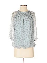 Prontomoda Giusy 3/4 Sleeve Silk Top