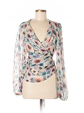 Missoni Long Sleeve Silk Top Size 40 (IT)