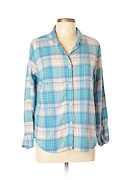Xhilaration Long Sleeve Button-Down Shirt Size XL