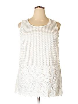 INC International Concepts Sleeveless Blouse Size 2X (Plus)
