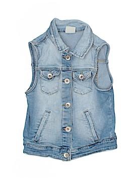 Zara Denim Vest Size 8
