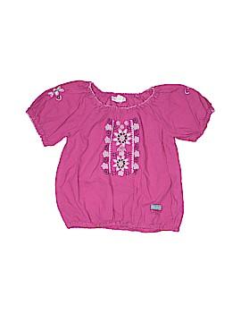 Naartjie Kids Short Sleeve Blouse Size 5
