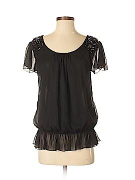Dizzy Lizzy Short Sleeve Blouse Size M