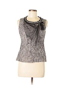 Rozae Nichols Sleeveless Silk Top Size XS