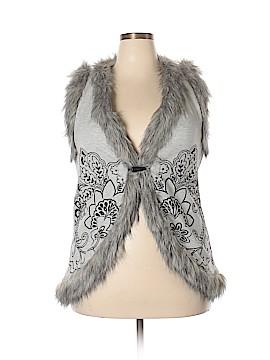 RXB Faux Fur Vest Size XL