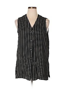 Briggs New York Sleeveless Button-Down Shirt Size L