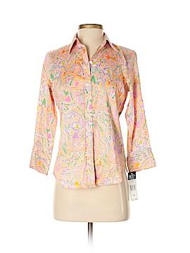 Chaps Long Sleeve Button-Down Shirt Size XS
