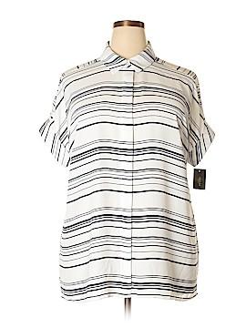 Alfani Short Sleeve Blouse Size 16