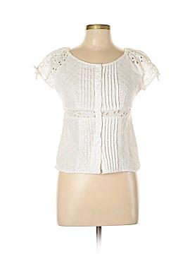 Carole Little Short Sleeve Blouse Size S
