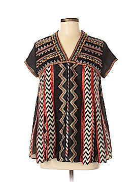 Ranna Gill Short Sleeve Blouse Size 4