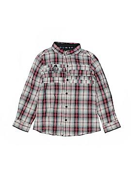 IKKS Long Sleeve Button-Down Shirt Size 5