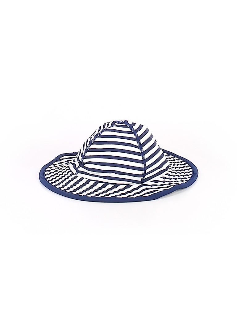 Hanna Andersson Stripes Dark Blue Bucket Hat Size X-Small (Kids ... 900b5cdb514