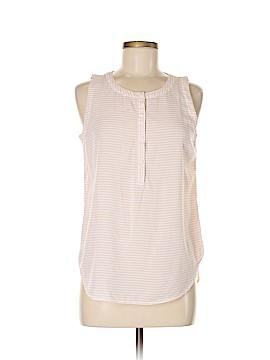 Liz Claiborne Sleeveless Button-Down Shirt Size S