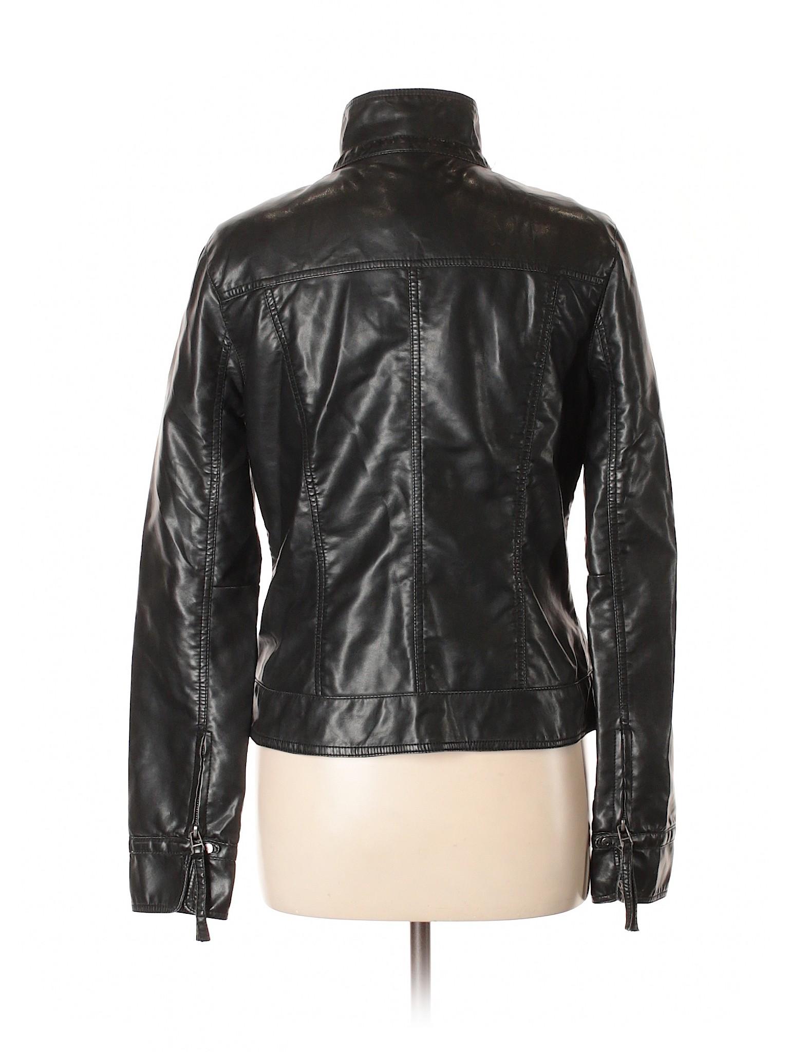 by Leather Jacket Jack Boutique leisure Faux Dakota BB Bw88qE