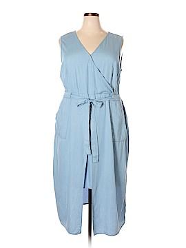 Modamix By Brandon Thomas Casual Dress Size 18W Plus (Plus)