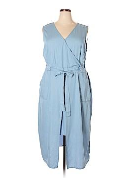 Modamix By Brandon Thomas Casual Dress Size 22W Plus (Plus)