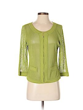 Dana Buchman Silk Cardigan Size M